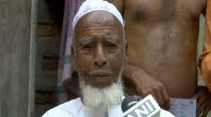 lok sabha election 2019 Assam: 116 year old to cast his vote in Karimganj | असम: करीमगंज में 116 साल के महमूद अलीडालेंगे अपना वोट, युवाओं से भी की ये खास अपील