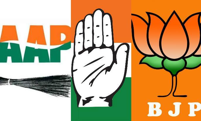 Lok Sabha election counting: BJP would have won all seven seats, if Congress-AAP alliance still they can't beat BJP | लोकसभा चुनाव मतगणना: बीजेपी सभी सातों सीटों पर आगे, कांग्रेस-आप का गठबंधन भी हुआ होता तो नहीं मिलती दिल्ली में जीत