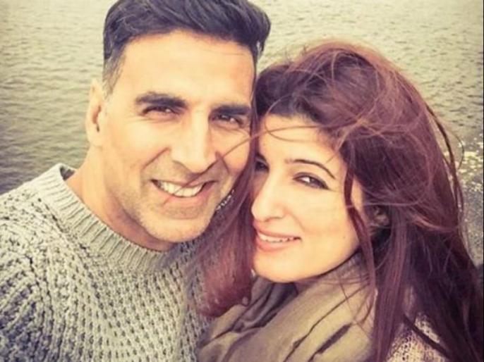 akshay kumar shares post for twinkle khanna on valentines day | अक्षय कुमार ने शेयर किया वाइफ ट्विंकल का क्यूट वीडियो, इस अंदाज में किया वैलेंटाइन विश