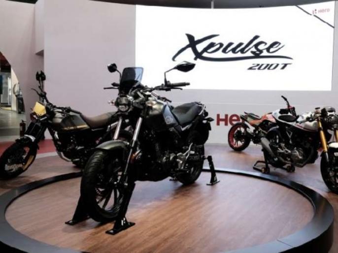 Hero MotoCorp unveiled Hero XPulse 200T touring bike EICMA 2018   Hero MotoCorp ने Hero XPulse 200T से उठाया पर्दा, इस टूरिंग बाइक की जानें खासियत