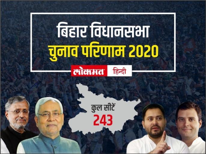 Bihar assembly elections 2020NDAGrand Alliance collisionresults come late night | बिहार विधानसभा चुनावःएनडीए और महागठबंधन की बीच जारी है कांटे की टक्कर, देर रात आएंगे परिणाम