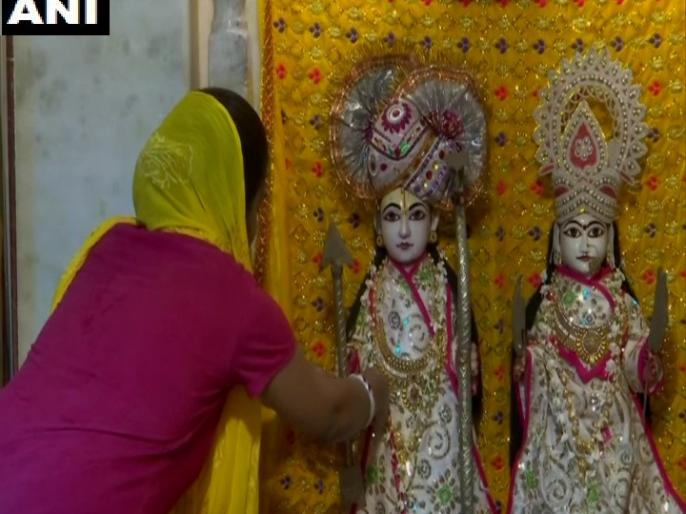 Ram Mandir Bhoomi Poojan Lord's blessings Ram settled our every breath CM Chauhan Decorate night 4th and 5th of August Deepotsav   राम मंदिर भूमि पूजन:हम पर प्रभु की असीम कृपा, रोम-रोम में रमे, हमारी हर सांस में बसे, सीएम चौहान बोले- 4 और 5 अगस्त की रात दीपोत्सव से सजाएं