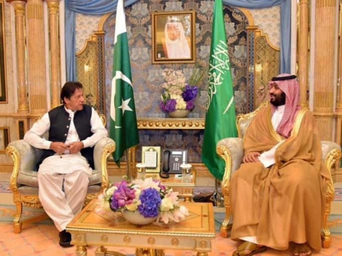 Pak PM Imran Khan Saudi to Discuss Kashmir Bilateral Issues | सऊदी अरब के शहजादे से मिले इमरान खान, कश्मीर मुद्दे पर की चर्चा