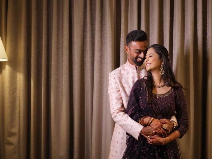 Jaydev Unadkat announces engagement '6 hours, 2 meals and 1 shared mud cake later' | भारतीय क्रिकेटर जयदेव उनादकट ने रचाई सगाई, देखें ये खूबसूरत Pics