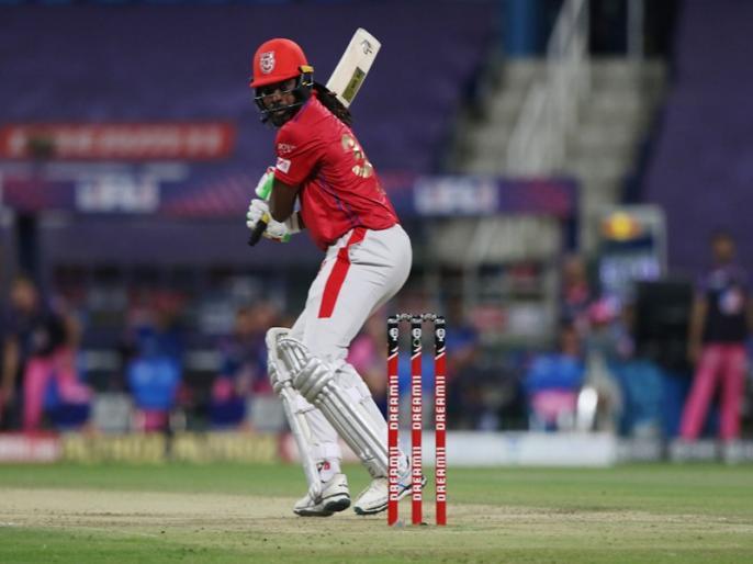 IPL 2020, Kings XI Punjab vs Rajasthan Royals: Chris Gayle 1000 six in t20 | IPL 2020, KXIP vs RR: क्रिस गेल का नया कारनामा, टी20 क्रिकेट में 1000 छक्के लगाने वाले पहले बल्लेबाज