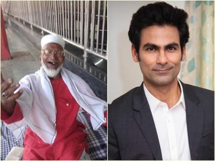 80 year old Mujibullah helps the migrants, mohammad kaif tweet- Humanity knows no age! | प्रवासी मजदूरों का मुफ्त में बोझा ढो रहा 80 वर्षीय कुली, मोहम्मद कैफ बोले- मानवता किसी उम्र की मोहताज नहीं