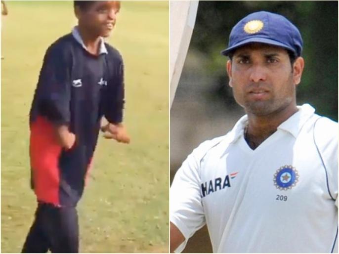 VVS Laxman share specially-abled child video, said Salute to spirit of human endurance and strength | क्रिकेट के प्रति जुनून को देख भावुक हुए वीवीएस लक्ष्मण, सोशल मीडिया पर शेयर किया वीडियो