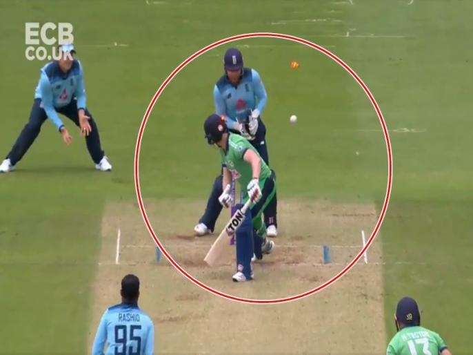 England vs Ireland: Adil Rashid bamboozles Kevin O'Brien courtesy splendid googly in second ODI - Watch Video | VIDEO: आदिल राशिद ने केविन ओ ब्रायन को गुगली में फंसाया, इस तरह किया लगातार दूसरी बार आउट