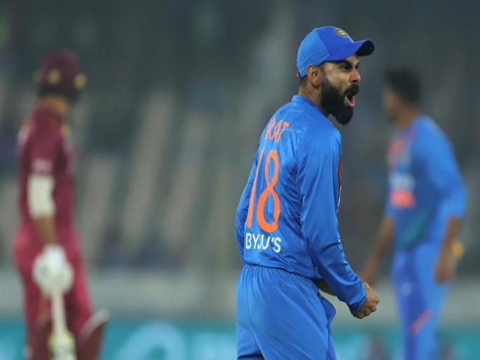 India vs West Indies: 3 balls, 3 dropped in Deepak Chahar over | IND vs WI: भारतीय खिलाड़ियों से लगातार 3 गेंदों पर छूटे कैच, दंग रह गए फैंस