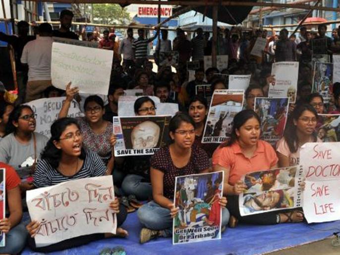 west bengal doctor on strike from kolkata to delhi raises problems to patients | पश्चिम बंगाल में डॉक्टर हड़ताल की गूंज दिल्ली तक पहुंची, राष्ट्रीय राजधानी के डॉक्टर्स करेंगे काम का बहिष्कार