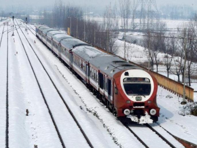 Jammu and Kashmir: Rail services resumed in the valley after three months, interrupted due to security reasons | जम्मू-कश्मीर: तीन महीनों के बाद घाटी में फिर से शुरू हुई रेल सेवाएं, अनुच्छेद 370 हटाए जाने की वजह से थी बाधित