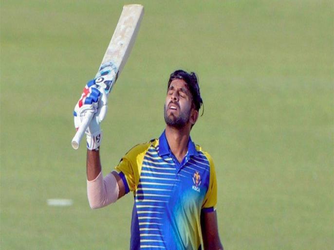 Vijay Hazare Trophy 2020-21, Karnataka vs Bihar: Ravikumar Samarth 158 runs in 144 balls   Vijay Hazare Trophy: रविकुमार समर्थ ने खेली कप्तानी पारी, 16 बाउंड्री के दम पर जड़े नाबाद 158 रन