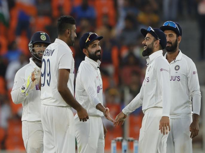 India vs England, 3rd Test: 842 Ind v Eng Ahmedabad 2020/21: Shortest ball Tests in post war era ending in a result | IND vs ENG, 3rd Test: टेस्ट क्रिकेट में बना रिकॉर्ड, द्वितीय विश्व युद्ध के बाद सबसे कम गेंदों में खत्म हुआ मुकाबला