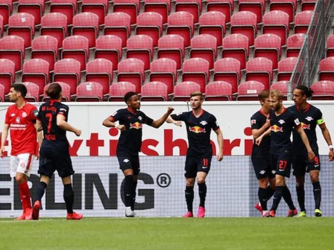 Bundesliga: Timo Werner Bags Hat-Trick As RB Leipzig Trounce Mainz | Bundesliga 2020: टिमो वर्नर की हैट-ट्रिक, लिपजिग ने मेंज को 5-0 से रौंदा