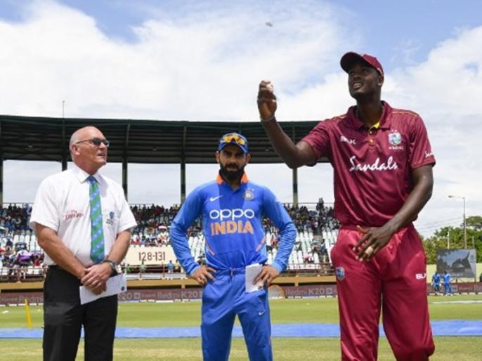 IND vs WI, 3rd ODI, Playing XI: West Indies opt to bat | IND vs WI, 3rd ODI, Playing XI: दोनों टीमों ने किए कुल 3 बदलाव, जानिए अंतिम एकादश