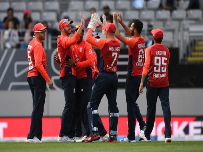 England beat New Zealand on super over after tie to win T20 series 3-2 in Auckland   ताजा हुई वर्ल्ड कप फाइनल की यादें, सुपर ओवर में न्यूजीलैंड को हराकर इंग्लैंड ने जीती सीरीज