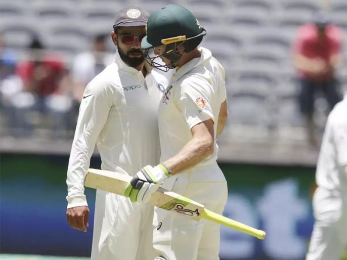 IND vs AUS: Tim Paine says, 'Virat Kohli is just another player to me:' | ऑस्ट्रेलियाई कप्तान टिम पेन ने विराट कोहली को बताया 'आम खिलाड़ी', कहा- हम उनसे नफरत करना पसंद करते हैं