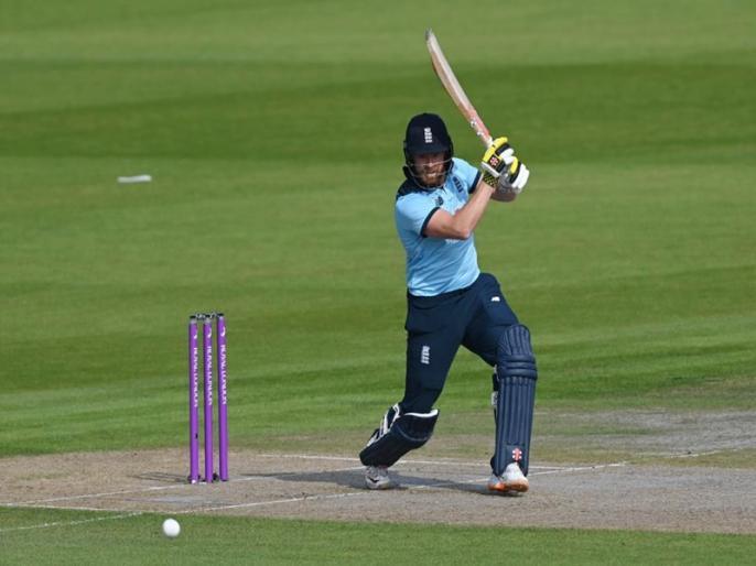 England vs Australia, 3rd ODI: Jonny Bairstow hit century, Australia won by 3 wkts   ENG vs AUS, 3rd ODI: जॉनी बेयरस्टो ने ठोका ताबड़तोड़ शतक, इस मामले में शिखर धवन को पछाड़ा