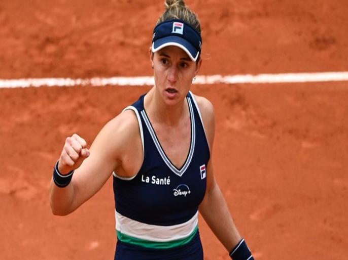French Open: Elina Svitolina beaten by Nadia Podoroska in quarter-finals | French Open: अर्जेंटीना की नादिया पोदोरोस्का ने रचा इतिहास, सेमीफाइनल में पहुंचने वाली पहली क्वालीफायर बनीं