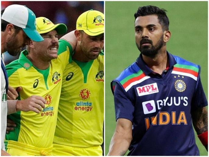 IND vs AUS: KL Rahul video goes viral, Faces Heat on Twitter After His Remarks on David Warner Injury | IND vs AUS: डेविड वॉर्नर को लेकर कही ऐसी बात, फैंस के गुस्से का शिकार हुए केएल राहुल