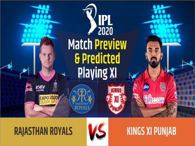 IPL 2020, Rajasthan Royals vs Kings XI Punjab, Match Preview & Predicted Playing XI:   IPL 2020, RR vs KXIP, Match Preview & Predicted Playing XI: पंजाब के खिलाफ बटलर की वापसी से राजस्थान होगी मजबूत