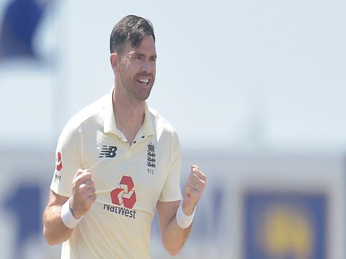Sri Lanka vs England, 2nd Test: James Anderson takes 6 wickets | SL vs ENG, 2nd Test: जेम्स एंडरसन ने मचाया टेस्ट में तहलका, महज 40 रन देकर झटके 6 विकेट