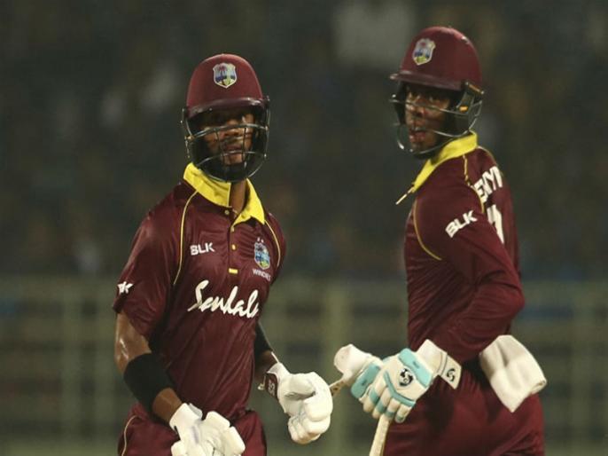 India vs West Indies, 1st ODI - Shai Hope-himron Hetmyer 218 runs partnership   IND vs WI, 1st ODI: शिमरॉन हेटमायर-शाई होप का क्रिकेट मैदान पर तूफान, दूसरे विकेट के लिए 218 रन की साझेदारी