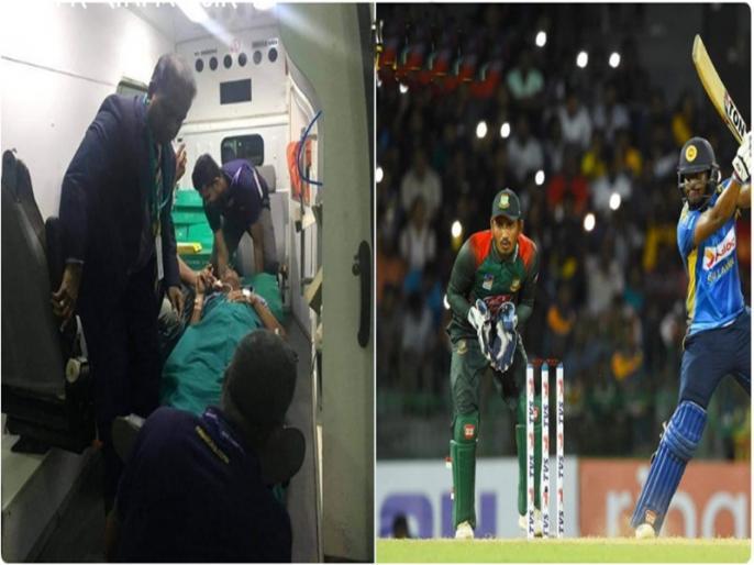 Sri Lanka vs Bangladesh, 2nd ODI Sri Lanka opener Avishka Fernando's father has been admitted to hospita | स्टेडियम से पिता पहुंचे सीधे अस्पताल, अविष्का फर्नांडो खेलते रहे देश के लिए पारी