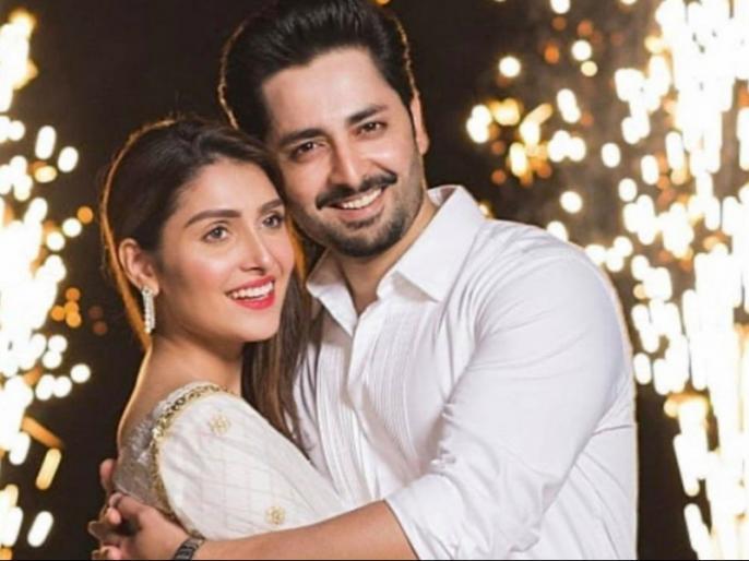 pakistani actress ayeza khan slam fake news | पाकिस्तानी एक्ट्रेस और उसके पति की प्लेन क्रैश में मौत की उड़ी अफवाह, अभिनेत्री ने गुस्से में कहा- फर्जी खबरें...