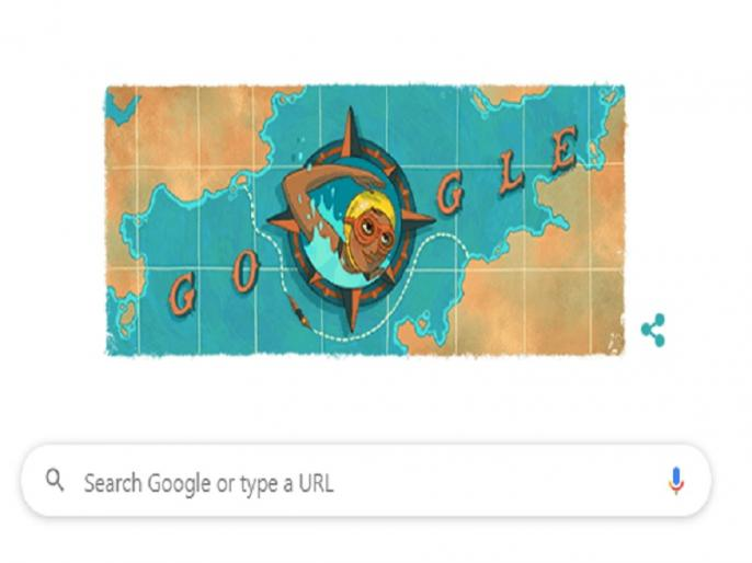 Google Doodle of Arati Saha first asian women to cross english channel | Google Doodle Arati Saha: गूगल अपने खास डूडल के जरिए आरती साहा को कर रहा है याद, जानिए क्या है इनकी कहानी