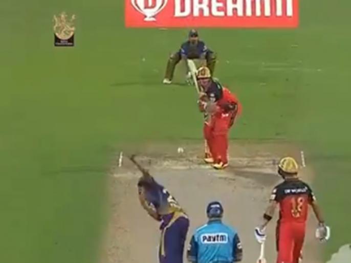 AB de Villiers hits a brutal shot the ball goes to the boundry line watch video | VIDEO: डिविलियर्स ने खेला पॉवरफुल शॉट, स्टंप पर लगने के बाद भी बाउंड्री लाइन के बाहर पहुंच गई गेंद, सब रह गए हैरान