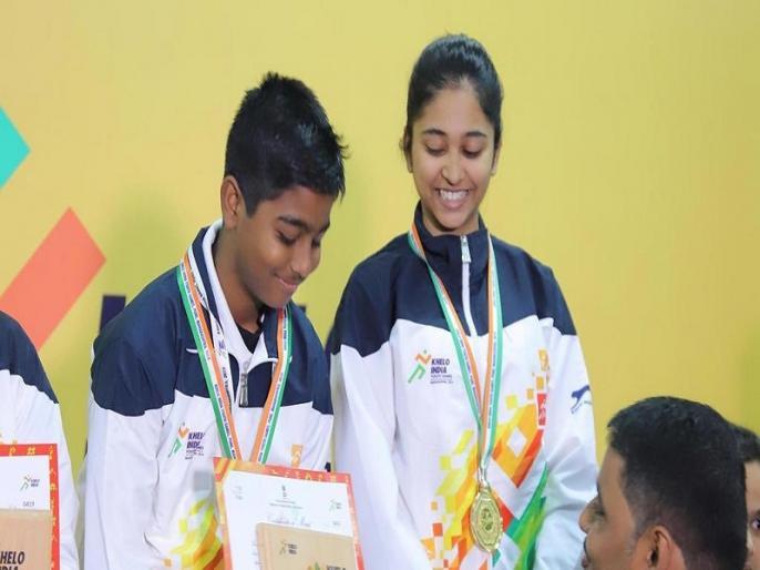 Khelo India Youth Games: 10 year old Abhinav Shaw becomes youngest gold medallist | खेलो इंडिया यूथ गेम्स: 10 साल के अभिनव साव ने जीता गोल्ड मेडल, बने सबसे युवा चैंपियन