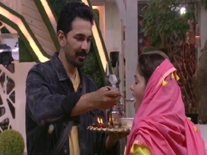 Bigg Boss 14: Rubina Dilak Karva chawth fasts for Abhinav Shukla in Bigg Boss house, beautiful video goes viral | Bigg Boss 14: रुबिना दिलैक ने अभिनव शुक्ला के लिए बिग बॉस हाउस में रखा करवा चौथ का व्रत, खूबसूरत वीडियो हुआ वायरल
