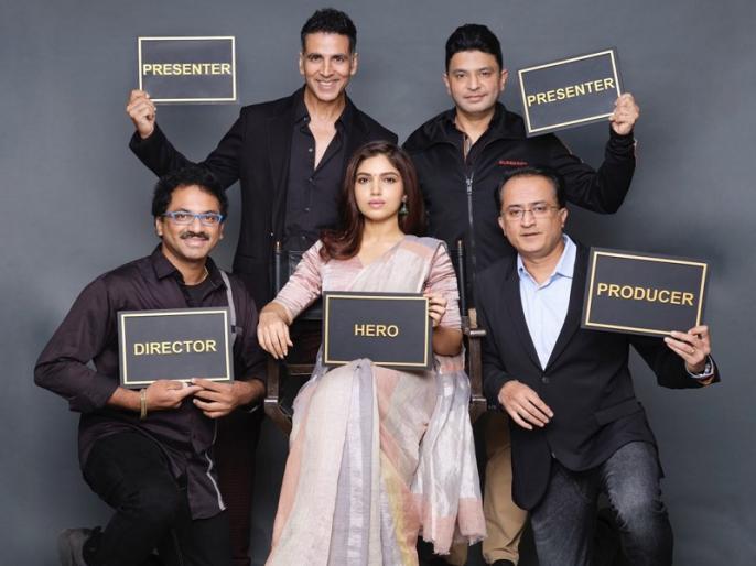 Actress Bhumi Pednekar and Akshay Kumar announced the shooting of the film 'Durgavati' | दर्शकों को डराने आ रही हैं एक्ट्रेस भूमि पेडनेकर, अक्षय कुमार ने फिल्म 'दुर्गावती' की इस अंदाज में की घोषणा