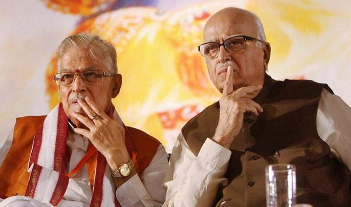 Mystery prevails over Advani, Joshi's presence, Vinay Katiyar will be present in Ram temple Bhoomipujan ceremony   आडवाणी, जोशी की मौजूदगी पर रहस्य कायम, विनय कटियार रहेंगे राम मंदिर भूमिपूजन समारोह में उपस्थित