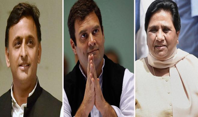 Before the SP-BSP combine, the last leg of Congress, said, 'ignoring us in UP will be a' dangerous error ' | सपा-बसपा गठबंधनसे पहले कांग्रेस का आखिरी दांव, कहा- यूपी में हमारी उपेक्षा करना 'खतरनाक भूल' होगी