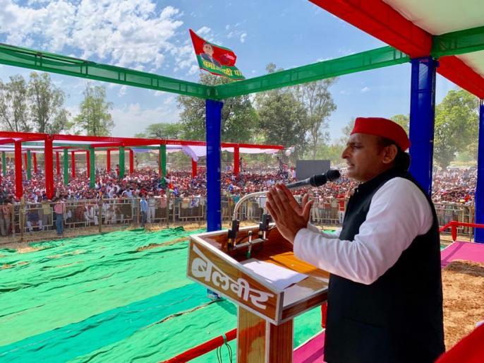 Lok Sabha Elections 2019: Akhilesh Yadav's action will be announced against Poonam Sinha, Rajnath Singh from Lucknow   अखिलेश यादव ने किया ऐलान, लखनऊ से राजनाथ सिंह के खिलाफ लड़ेंगीं पूनम सिन्हा