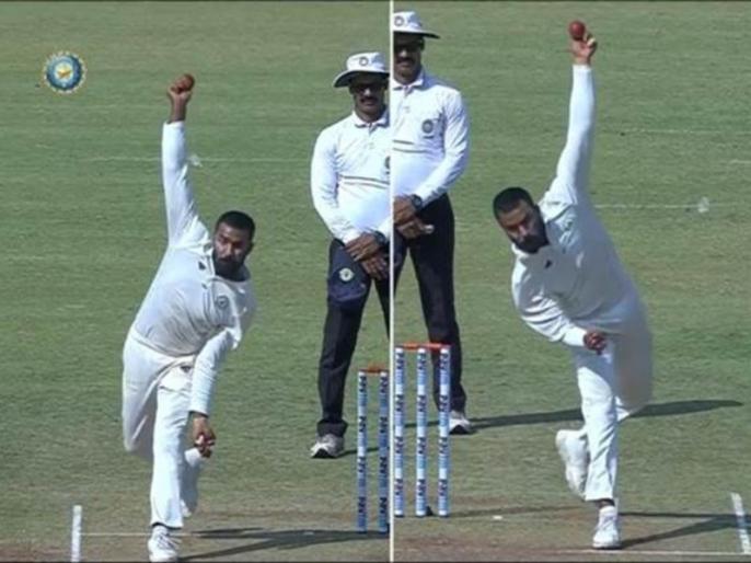 Ambidextrous spinner Akshay Karnewar surprises with his bowling skills in Irani Cup | विदर्भ के इस गेंदबाज ने 'दोनों हाथों' से गेंदबाजी कर चौंकाया, सचिन और रोहित को भी कर चुका है हैरान