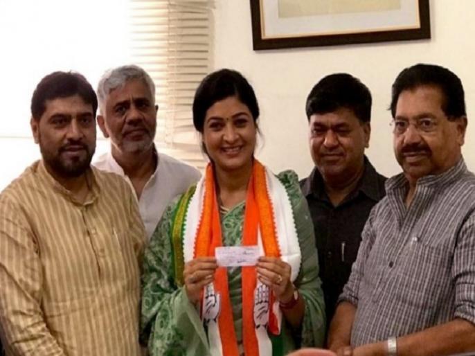 Delhi: Alka Lamba, MLA from Chandni Chowk joins Congress in presence of party leader, PC Chacko | दिल्ली: 'आप' से अलग हुईं चांदनी चौक से पूर्व विधायक अलका लांबा कांग्रेस में शामिल