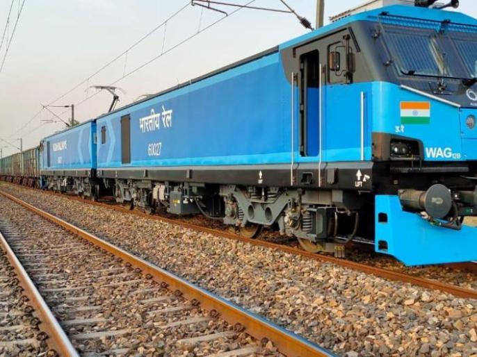 Railways goodstrain ready run 120 KM per hourAlstom's 12,000 horsepower e-engine approved | रेल मंत्रालयः एक और कामयाबी,120 KMप्रतिघंटे की रफ्तार से दौड़ने को तैयारमालगाड़ी,एलस्टॉम के 12,000 अश्वशक्ति ई-इंजन कोमंजूरी