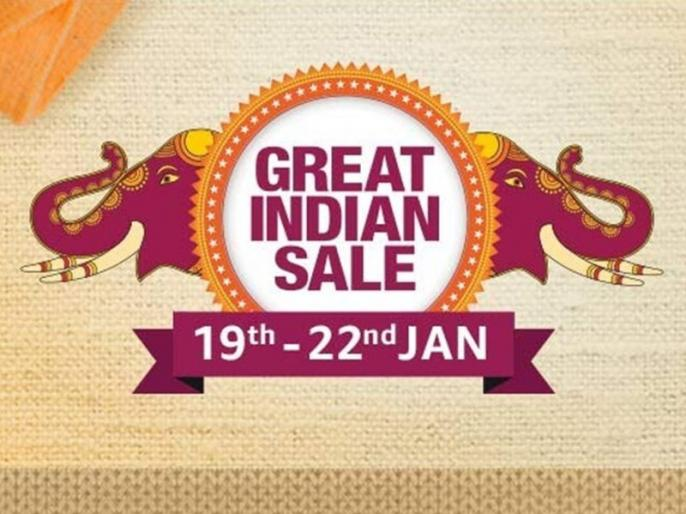 Amazon Great Indian Sale 2020 offers product list kab se shuru hai sale Amazon Great Indian Sale mobile phone offer | Amazon Great Indian Sale 2020: 19 जनवरी से शुरू होगी धमाकेदार सेल, मिलेगी 80 पर्सेंट तक की छूट