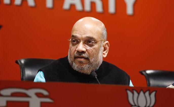 Amit Shah targets opposition on EVM asked 6 questions | अमित शाह ने ईवीएम को लेकर विपक्ष पर साधा निशाना, पूछे 6 सवाल