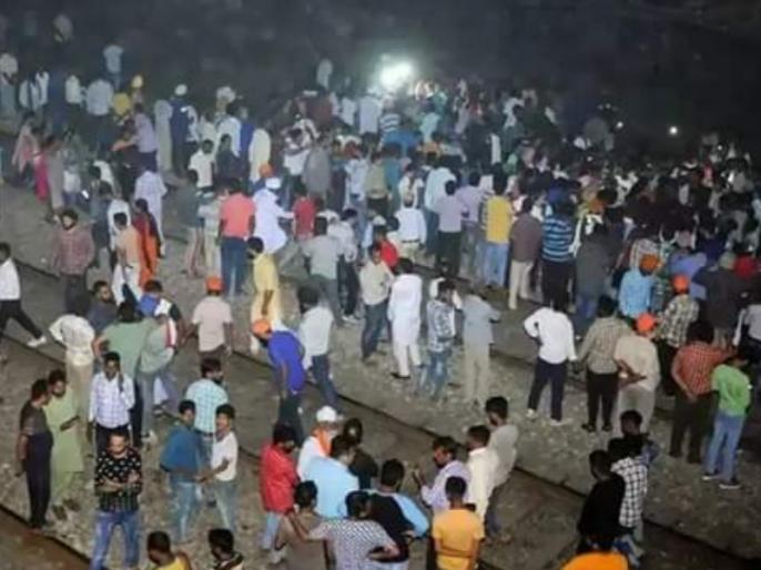 amritsar Train accident: Local residents say that same location was used for ravan dahan for 20 years | अमृतसर रेल हादसाः स्थानीय लोगों का दावा- 20 वर्षों से यहीं होता आ रहा है 'रावण दहन'!