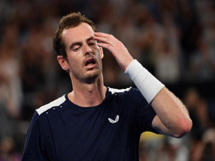 andy murray crashes out of australian open after losing in first round against roberto bautista | ऑस्ट्रेलियन ओपन: एंडी मरे पहले ही दौर में हारकर बाहर, टूर्नामेंट में हुआ बड़ा उलटफेर