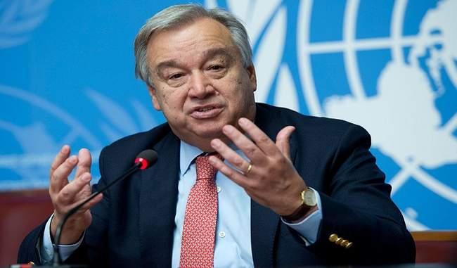 War level plan needed to win the war against Coronavirus: Antonio Guterres   Coronavirus: संयुक्त राष्ट्र प्रमुख गुतारेस ने कहा- कोरोना के खिलाफ जंग जीतने के लिए युद्ध स्तर की योजना की जरूरत