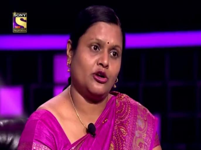 Anupa Das became the third millionaire of this season, the correct answer to 1 crore | KBC 12: इस सीजन की तीसरी करोड़पति बनीं अनूपा दास, कैंसर से पीड़ित मां का कराएंगी इलाज, कहानी सुन बिग बी भी हुए इमोशनल