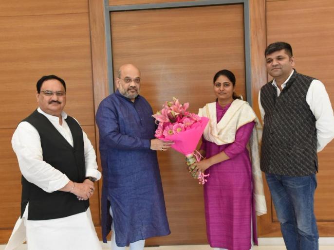 Apna Dal enter into alliance with Bharatiya Janata Party, to contest on two seats in Uttar Pradesh | लोकसभा चुनाव 2019: उत्तर प्रदेश में बीजेपी और अपना दल का गठबंधन, इस सीट से चुनाव लड़ेंगी अनुप्रिया पटेल