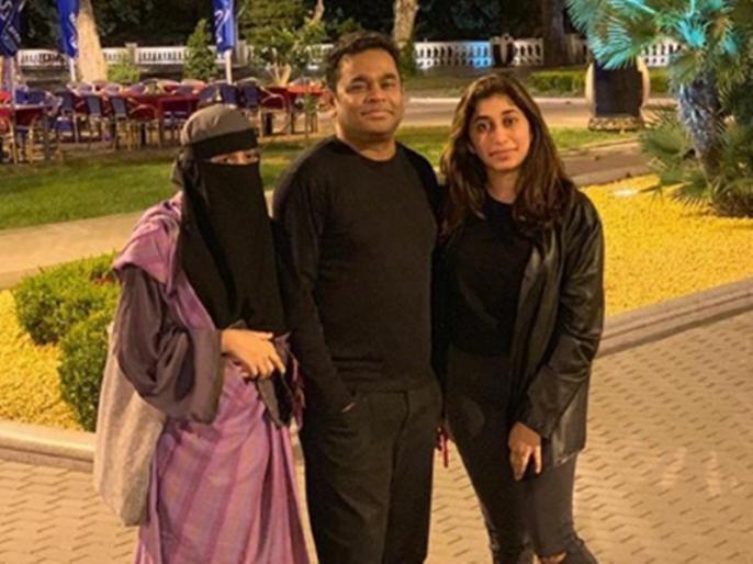 AR Rahman defends daughter Khatija says he wear burqa too | बुर्का पहनने पर बेटी के सपोर्ट में उतरे ए आर रहमान, कहा- 'अगर पुरुष बुर्का पहनता तो मैं जरूर...