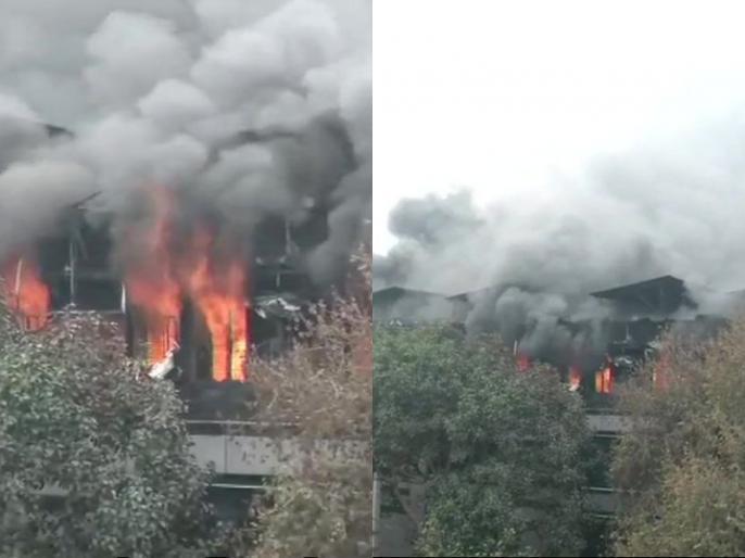 Fire in a factory in Naraina delhi lives updates | दिल्ली: नारायणा में ' आर्चीज़' की फैक्ट्री में लगी भीषण आग, दमकल की 29 गाड़ियां मौजूद, रेस्क्यू ऑपेरशन जारी