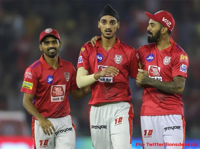 IPL 2019, KXIP vs RR: Arshdeep Singh celebration after Jos Nuttler wicket | पंजाब के 20 साल के इस गेंदबाज ने डेब्यू मैच में लिया जोस बटलर का बड़ा विकेट, ऐसा था रिएक्शन